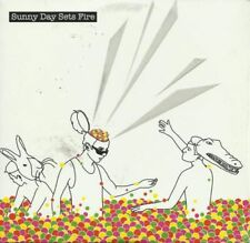 SUNNY DAY SETS FIRE ~ Self Titled ~ CD Sampler ~ Like NEW!