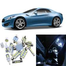10pcs White Interior LED Light Package Kit for Infiniti G37 Coupe 2008-2013