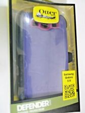 For Samsung Galaxy SIII Case Cover (Belt Clip Fits Otterbox Defender) PURPLE