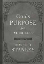 God's Purpose for Your Life : 365 Devotions, Hardcover by Stanley, Charles F.