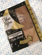 Vintage nude stockings size 10 1/2 New in pkg darker shade