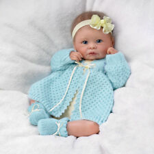 "ASHTON DRAKE SO REAL SWEETLY SNUGGLED SARAH VINYL BABY DOLL 16"" LINDA MURRAY"