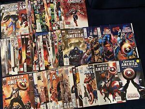 Captain America Brubaker 80+ Comics 35-49, 600-619, 1-19, Reborn 1-6,