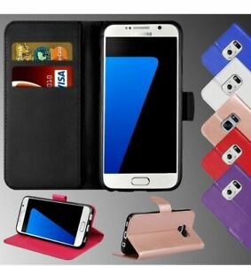 For All Samsung S20 S10 S9 S6 S7 S5 A51 A71 A30Magnetic Leather Flip Wallet Case