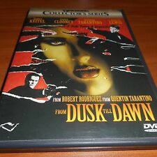 From Dusk Till Dawn (DVD, 2000, 2-Disc Widescreen) George Clooney Used