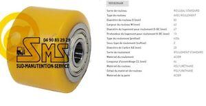 GALET 82 62 64 20 mm JUNGHEINRICH 50052971 TRANSPALETTE MANUEL AM 2200 PIECE