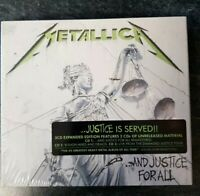 Metallica-...And Justice For All - 3Cd Expanded deluxe  Edition- CD NEW