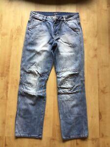 Timezone Jeans Hose W 34 L 32, 34/32 blau Style Comfort Cesare TZ