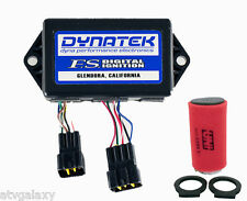 Dynatek CDI Ignition + Uni Air Filter Intake Yamaha Warrior 350 02 03 04 Dyna FS