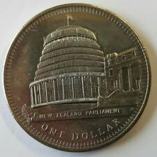 NEUSEELAND: 1 DOLLAR 1978,  PARLAMENTSGEBÄUDE, (Alb03N11), STGL.