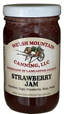 STRAWBERRY JAM -  All Natural Preserves Amish Homemade Fresh Summer Fruit Spread