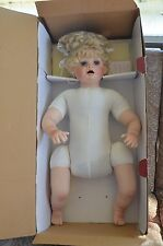 "BABY ALICE 24"" Porcelain Doll by Treasured Heirloom Collection Signed/Numbered"