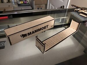 1/50 Lionel Mammoet Intermodal Containers and Flat Racks