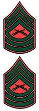 Marine Master Sergeant Decal Sticker