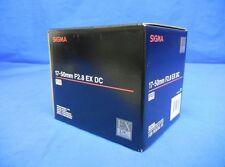 Sigma 17-50mm F2.8 EX DC HSM Zoom Lens For Pentax Japan model New