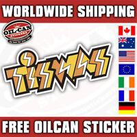 Tiswas sticker, retro eighties 130mm wide