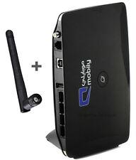 HUAWEI B683 Routeur Sans Fil MODEM 3G HSPA+ 21 Mbit/s WiFi LAN R11 SMA MiFi TV