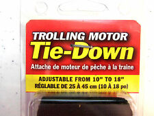 "Trolling Motor Tie Down Strap - Adjustable from 10"" to 18"" -  by Rod Saver TMS10"