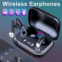 Noise Cancelling Earbuds Bluetooth 5.0 Earphones TWS Headphones Wireless Headset