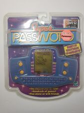 2000 Tiger Electronics Super Password Handheld LCD Game Brand New