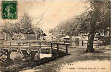 CPA Reims-Pont en bois sur la Vesle (347003)