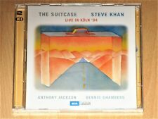 2xCD Steve Khan - The Suitcase - Dennis Chambers - Anthony Jackson LIVE KÖLN Neu