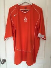 Holland football home shirt 2004-2006, Nike, new without tags, XXL,