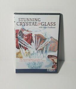 Stunning Crystal & Glass Joyce Faulknor Watercolor DVD Capture splendor of Light