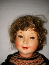 "Antique 14"" Jointed Celluloid Character Doll Marked France 35"