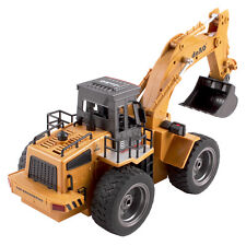 deAO RC Excavator Loader Truck 2.4GHz Sync System for Multi Players