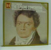 KEMPFF beethoven the 5 piano concertos 3X LP BOX SET, EX+/EX, 2701 014, vinyl,