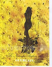PUBLICITE ADVERTISING 074 1969 GUERLAIN Chamade