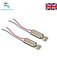 X2 Two 4x8mm DC 1.5-3V Micro Cell Phone Coreless Vibration Motor Vibrator New