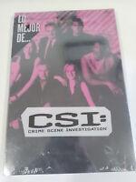 CSI CRIME SCENE INVESTIGATION LO MEJOR DE CSI 6 X DVD ESPAÑOL ENGLISH Nuevo