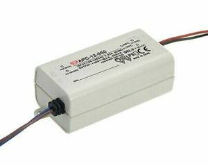 MEAN WELL LED Switching Power Supply 12W Constant Current 350mA 9-36V IP42 RoHS