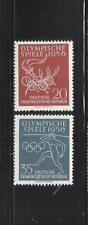 ALEMANIA, (D.D.R.). Año: 1956. Tema: OLIMPIADAS DE MELBOURNE-1956.