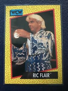 "RIC ""Nature Boy"" FLAIR  1991 Impel WCW #36  MINT  Pack Fresh!"