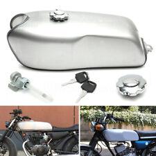 9L/2.4 Gallon Custom Cafe Racer Gas Fuel Tank Fit for BMW Honda Yamaha Kawasaki