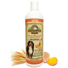 Shampoo for Dogs and Cats with Long Coat – Sulfate Free, Natural Components