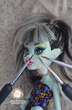 3xDoll Repaint Miniature Art Brush Faceup Custom OOAK Spotter Detail BJD Blythe