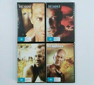 Die Hard Quadrilogy Special Edition DVD - Bruce Willis - Region 4