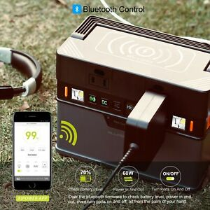 Allpowers 288Wh Portable Generator Solar Power Station Camping Battery Backup US