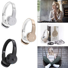 New Monster Clarity HD Wireless Bluetooth Touch Stereo On-Ear Headphone Headset