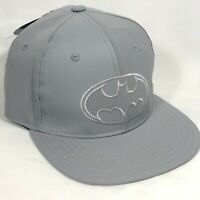 New With Tags Official DC Batman Baseball Cap- Reflective Hat Dark Knight