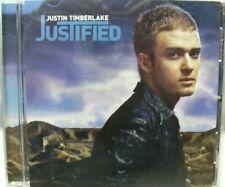 Justified by Justin Timberlake (CD, Nov-2002, Jive) LN
