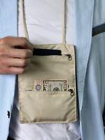 Hidden Money Holder Neck Wallet Wallet Travel Sport Passport Lanyard