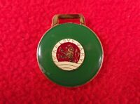 Antique Pin Badge Karlovy Vary town City key ring keyring GB1