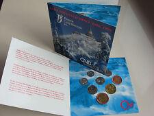 TSCHECHIEN 1998 KMS MÜNZEN SATZ COIN SET ST BU - ISERGEBIRGE -