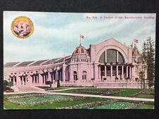 #50 RP Vintage Postcard - USA - Seattle Exhibition 1909 - Manufacturers Building