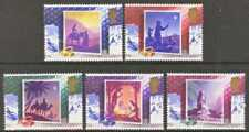 Gb Mnh Scott 1234-1238, 1988 Christmas complete set of 5